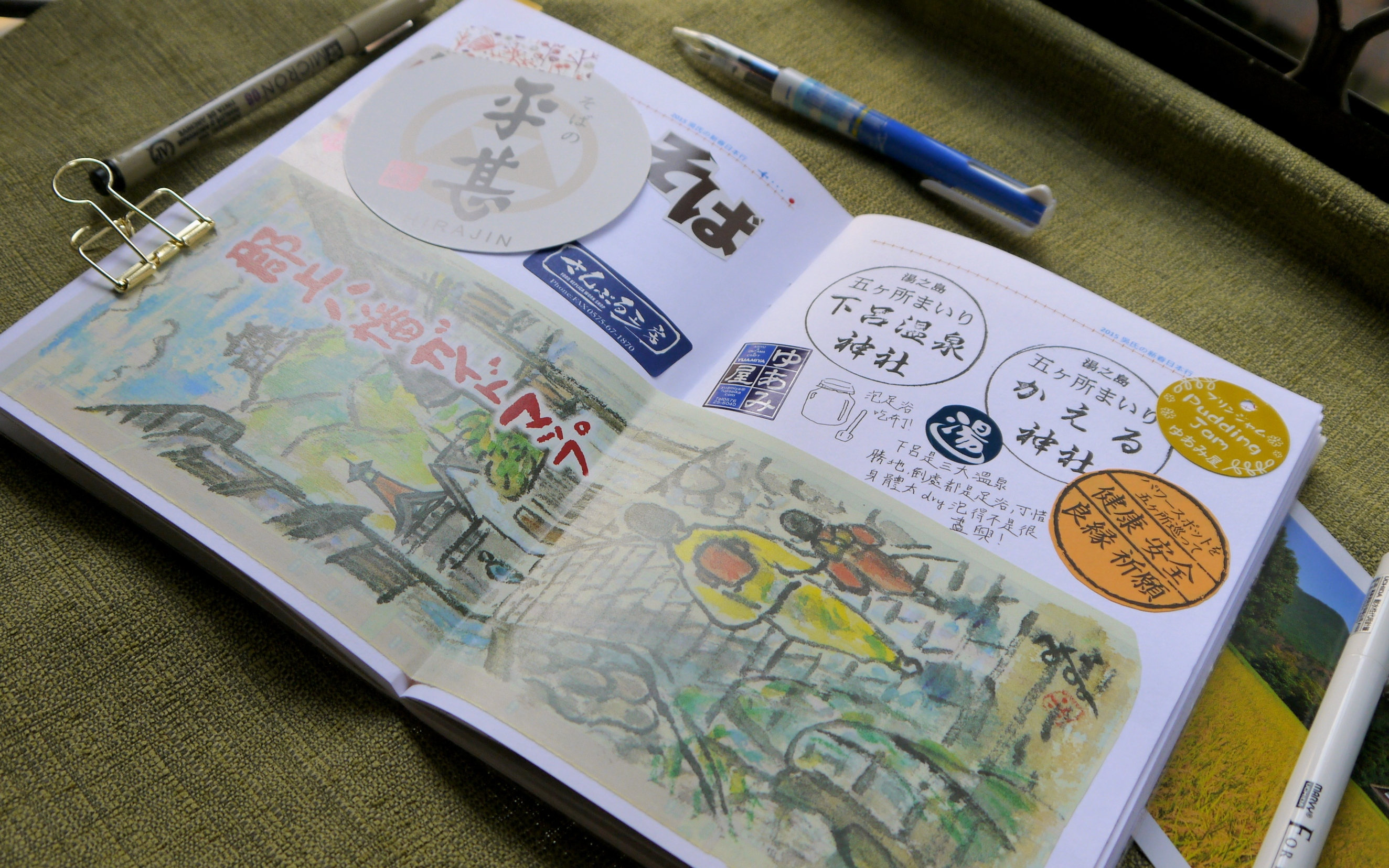 How to scrapbook travel - Travel010
